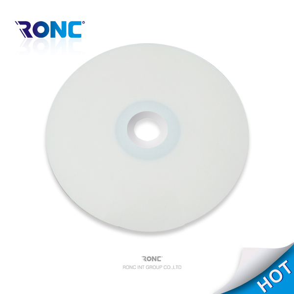 blank white dvdr dl printable 8.5gb with 8x running speed and 240 min time manufacture in China