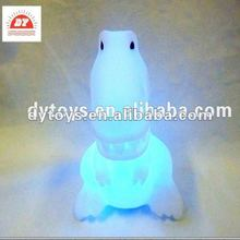 3d mini vinyl Led light up dinasour toy for kids