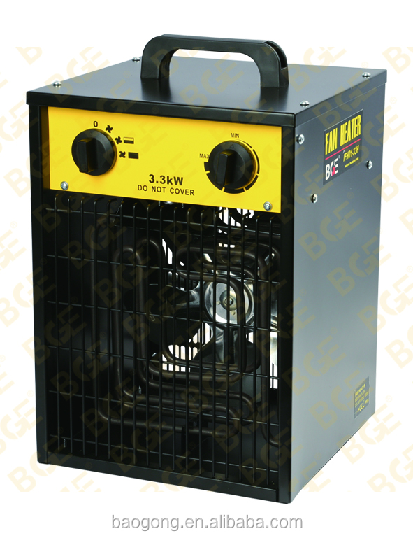 electric industrial fan heater 3.3KW