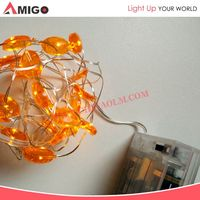 100 led 8 colors Wedding Party Decorative Christmas solar string lights led chasing events lights