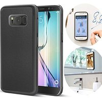 Anti Gravity Case Nano Suction Magic Sticky Selfie Back Cover for Samsung Galaxy S6 Edge/S8 S8Plus