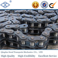 ISO DIN standard carbon steel short pitch 31.75mm B series 20B-1 simplex transmission roller chain