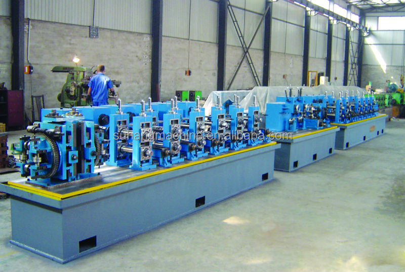 High Speed Stainless Steel Pipe Round &Square Pipe Tube Production Line