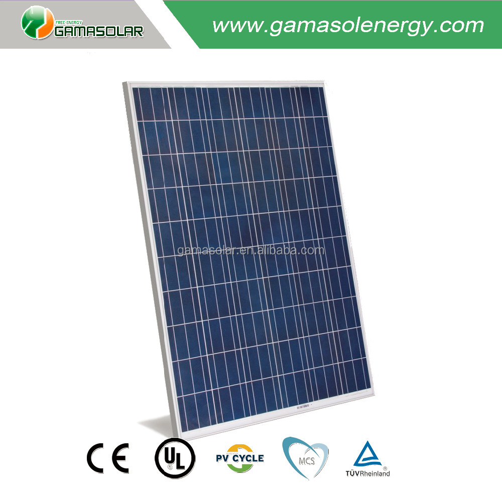 hot sale high efficiency 260w monocrystalline silicon solar module price per watt solar panel