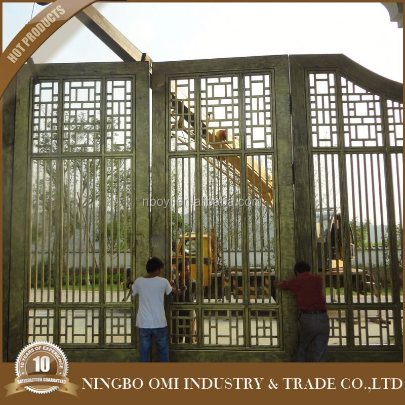 Artistic metal gate ,iron drive way gates,iron gates sliding prices