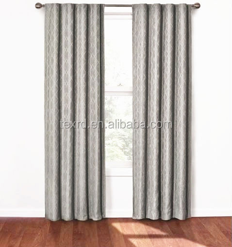 the latest 100% cotton one single layer curtain made in China