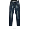 Royal blue women classic slim fit jeans with best price