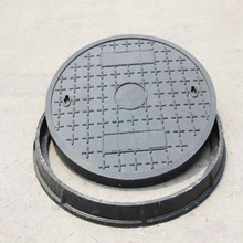 China supplier light weight colour customized concrete and composite manhole cover