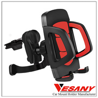 Vesany Best Viewing Angle Special Design plastic fashionable car holder air vent mount