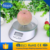 Glass 5Kg Digital LCD Electronic Food Kitchen Postal Scales