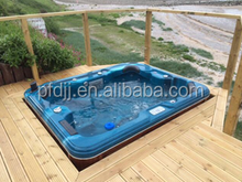 Family acrylic bathtub underground swim pool spa hot tub