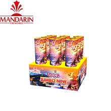 500g 1.4g consumer fireworks cake jumbo 9 with perfect effects