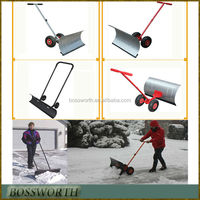 Manual snow removing tools