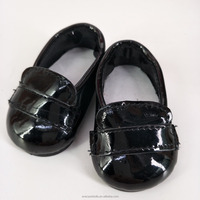 New Designer Black Mary Jane Style 18 Inch Doll Shoes / Clothing Accessories Fits American Girl Doll Shoes