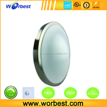 Popular 14'' diameter CE round ceiling light inserts type