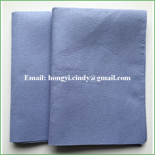 Needle punched Germany nonwoven oil absorbent towels