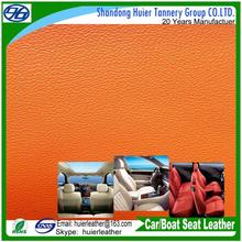 Custom made pu leather to make your own design car seat cover