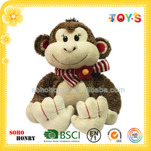 Custom cheap monkey plush toys of Funny Monkey series