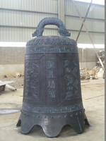 custom antique china supply metal craft large bronze bell