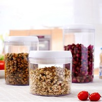 2L Promotion Wholesale 1000ml airtight plastic food storage container jarchina food container