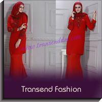Transend Designs of Pakistani Stylish Embroidery Georgette Kurtis Suits of Women