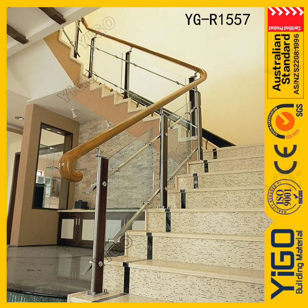 custom stair railings \ stair railing post