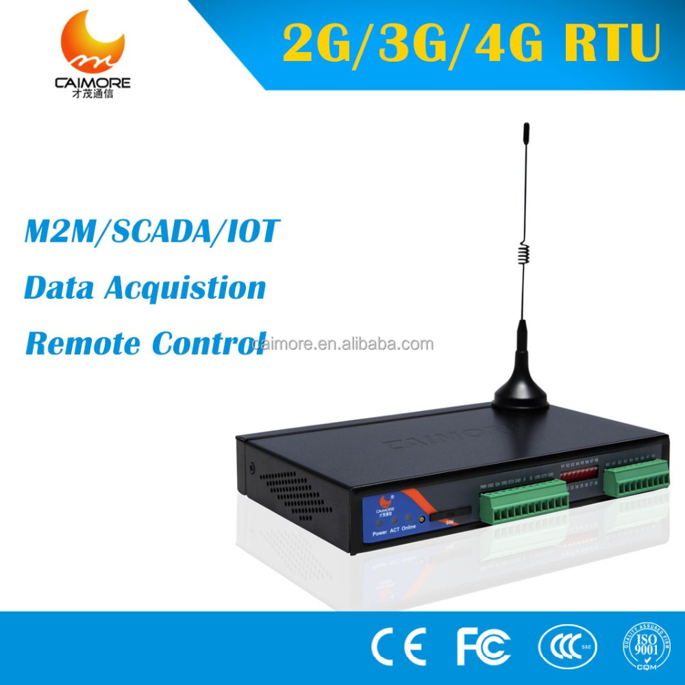CM550-51W gsm rtu sms controller 3g plc digital input module serial to ethernet modem for water level, data logger, scada
