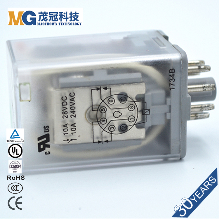 Motorcycle Roller Starter Relays in Sugar Cube Switching Relay Control Board