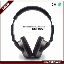 Wireless stereo bluetooth headphone rotating earmuff online chatting sport bluetooth headphone earphone with mic