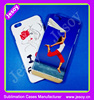 JESOY 3D Sublimation Blank Case For iPhone 4 Cell Phone Back Cover Case