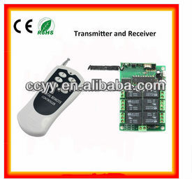 garage door rf 6 channel remote control