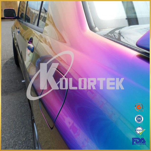 Top Grade Color Changing Pigment for Car Paint, Chrome Chameleon Pigment Manufacturer