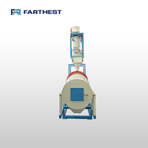 Rolling Oil Coating Machine For Fish Feed Processing