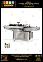 Automatic Wet Glue Paper Labelling Machine for Flat Paper Label Application