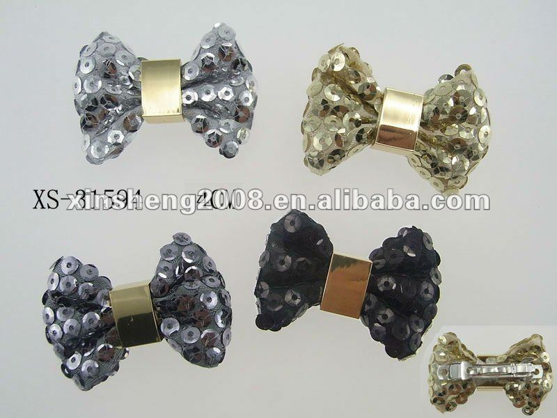 Glitter shinning sequin charming hair clips