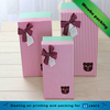 Cute pink green baby shower/birthday gifts packaging cardboard box