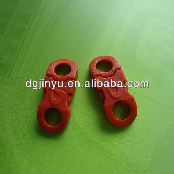 Plastic Side Release Buckle Clip with Lasered Logo
