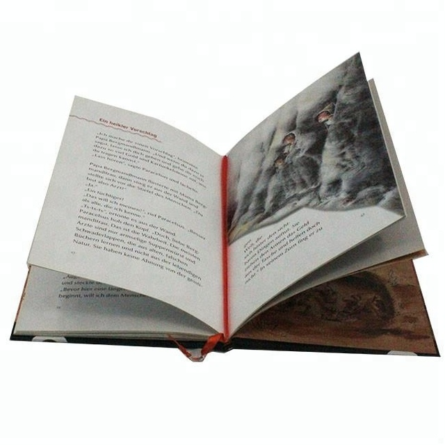 Custom Full Color hardback Book Printing, Exquisite magazine book with perfect Binding