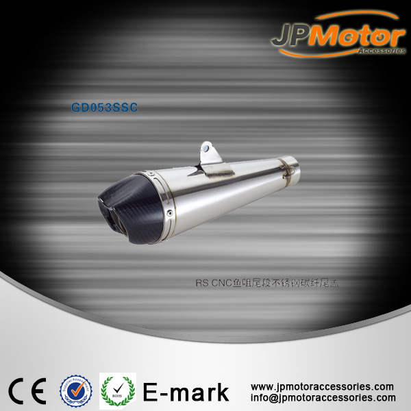 silenciador custom moto, motorcycle modified stainless steel exhaust muffler