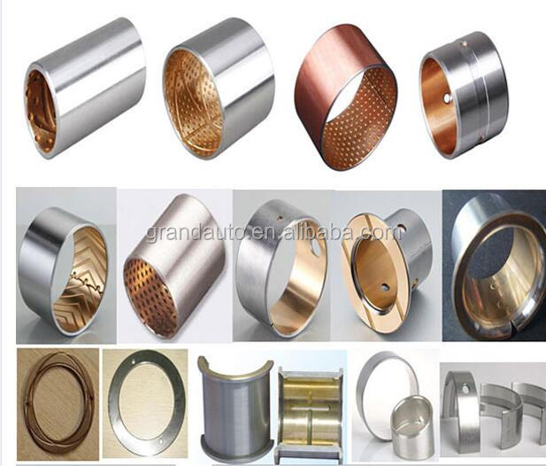 truck flange lubrication bimetal bushing coppe toyota vios rubber bushing