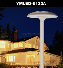 New design low price fixtures outdoor 60W LED garden pole light