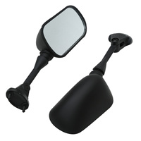 For ZX6R 05 06 07 08 NINJA ZX 6R 05-08 636 Black Pair Mirrors