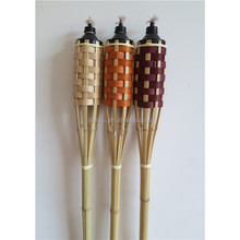 Popular Garden Lighting Bamboo Tiki Torch For Decoration