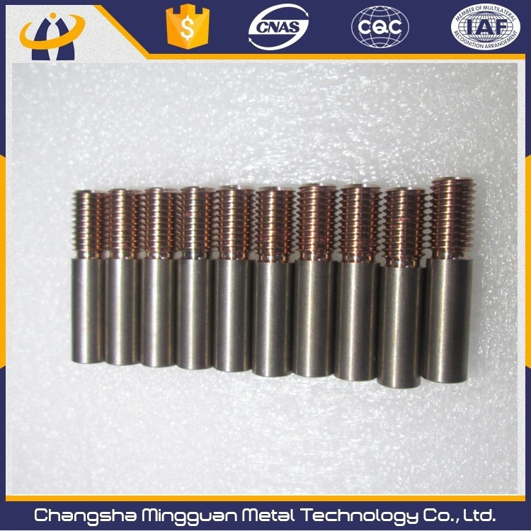 M6,M8,<strong>M10</strong> Cu25W75 <strong>thread</strong> electrode