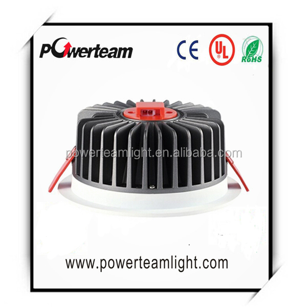 85-90lm/w cob led downlight/elegent looking led down light