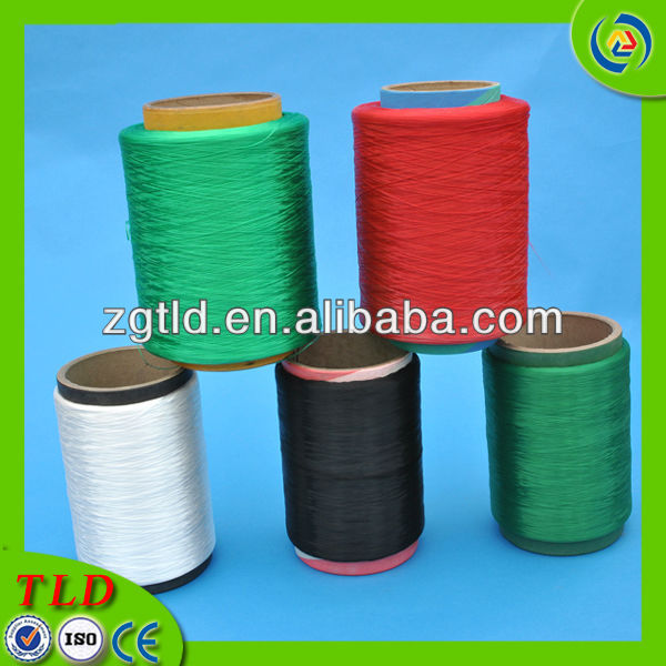 900d black pp yarns for fishing net
