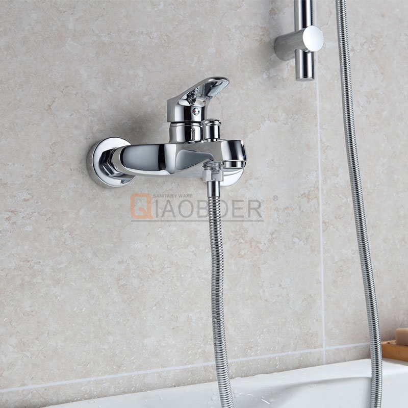 Ceramic Cartridge Chrome Unique Bathroom Faucets