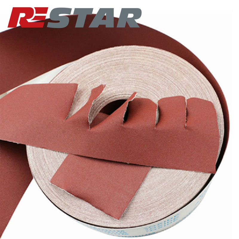 <strong>J</strong> Weight Cloth Backed Sandpaper Abrasive Cloth Strips