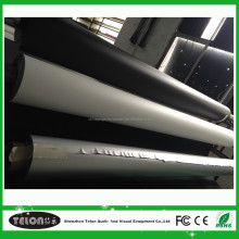 Pvc Projection Screen Fabric Black Backed