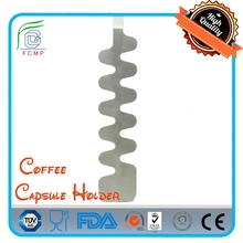 Space Saving Wall Mounted Coffee Capsule Holder for 10 Cafissimo Capsules